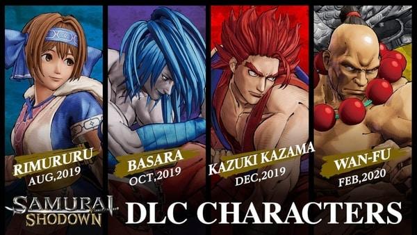 samurai shodown dlc characters