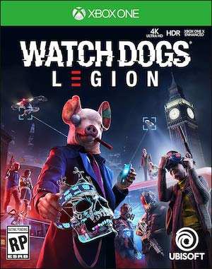 Watch Dogs: Legion Box Art