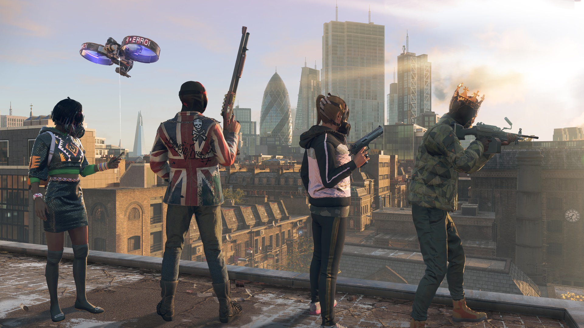 Watch Dogs Legion Post Launch Content Includes Co Op Pvp And Assassin S Creed Crossover