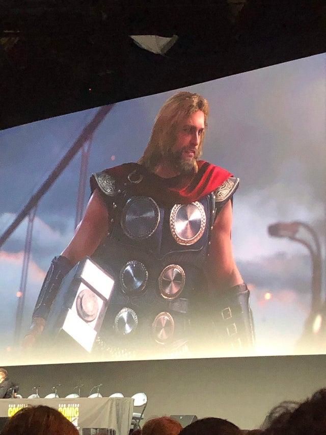 Avengers leaked Thor