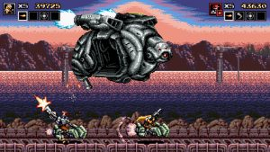 Blazing Chrome Review – Hard Corps.