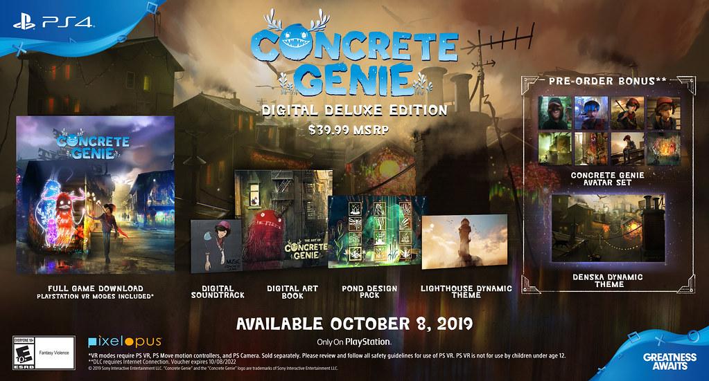 concrete genie deluxe edition