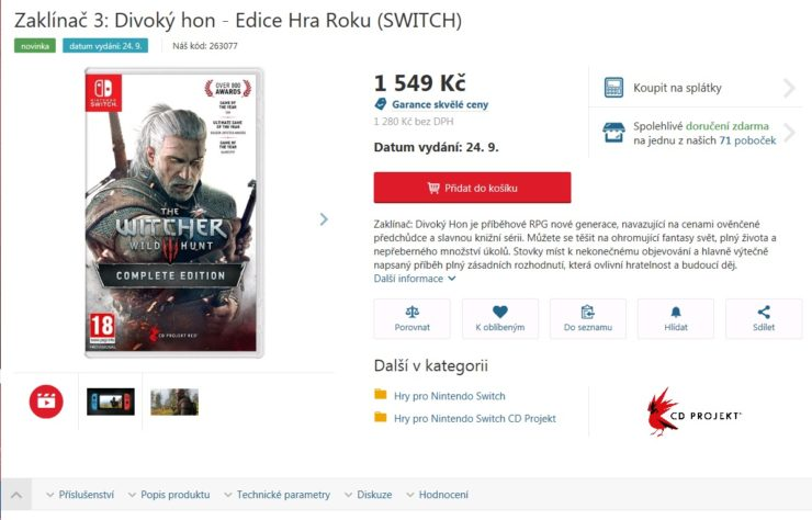 witcher-3-switch-release-date-september-24