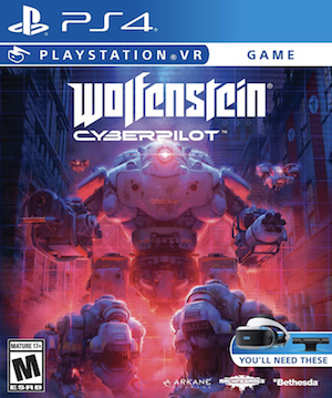 Wolfenstein: Cyberpilot Box Art
