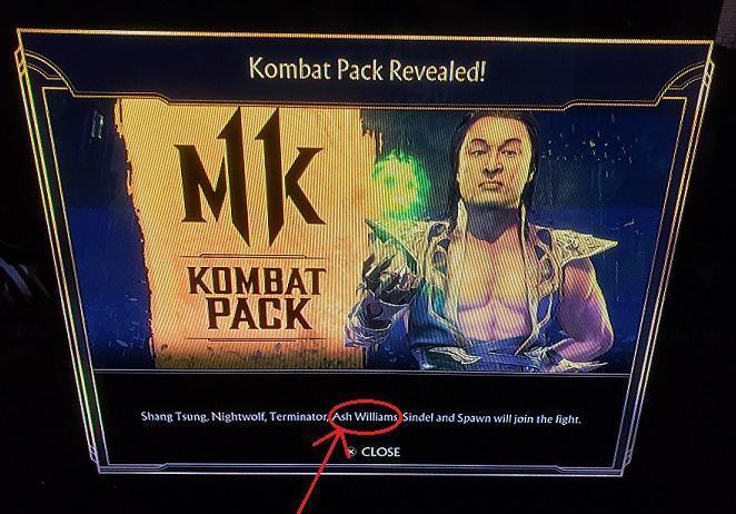 Ash Mortal Kombat 11