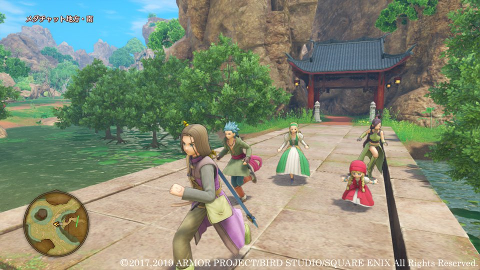 Dragon Quest 11 S Gets Screenshots To Show Off New Features