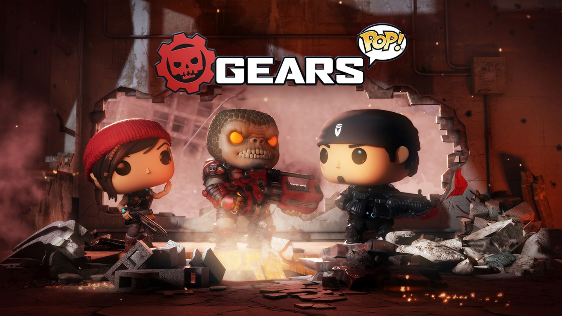 Gears of War Figur Boomer Funko POP