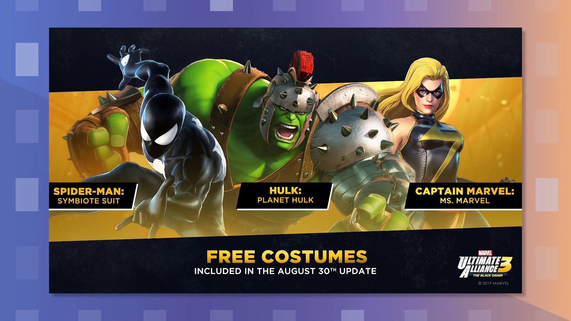 MUA3 Free Costumes