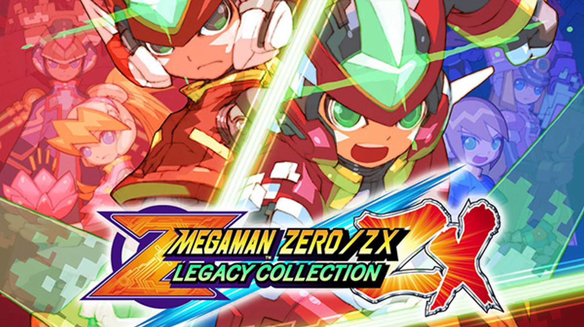 Megaman Zero-ZX Legacy Collection