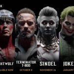Mortal Kombat 11 – Kombat Pack Roster Revealed, Terminator and Joker Revealed