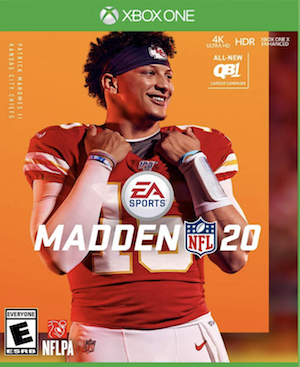 Madden NFL 20 Box Art