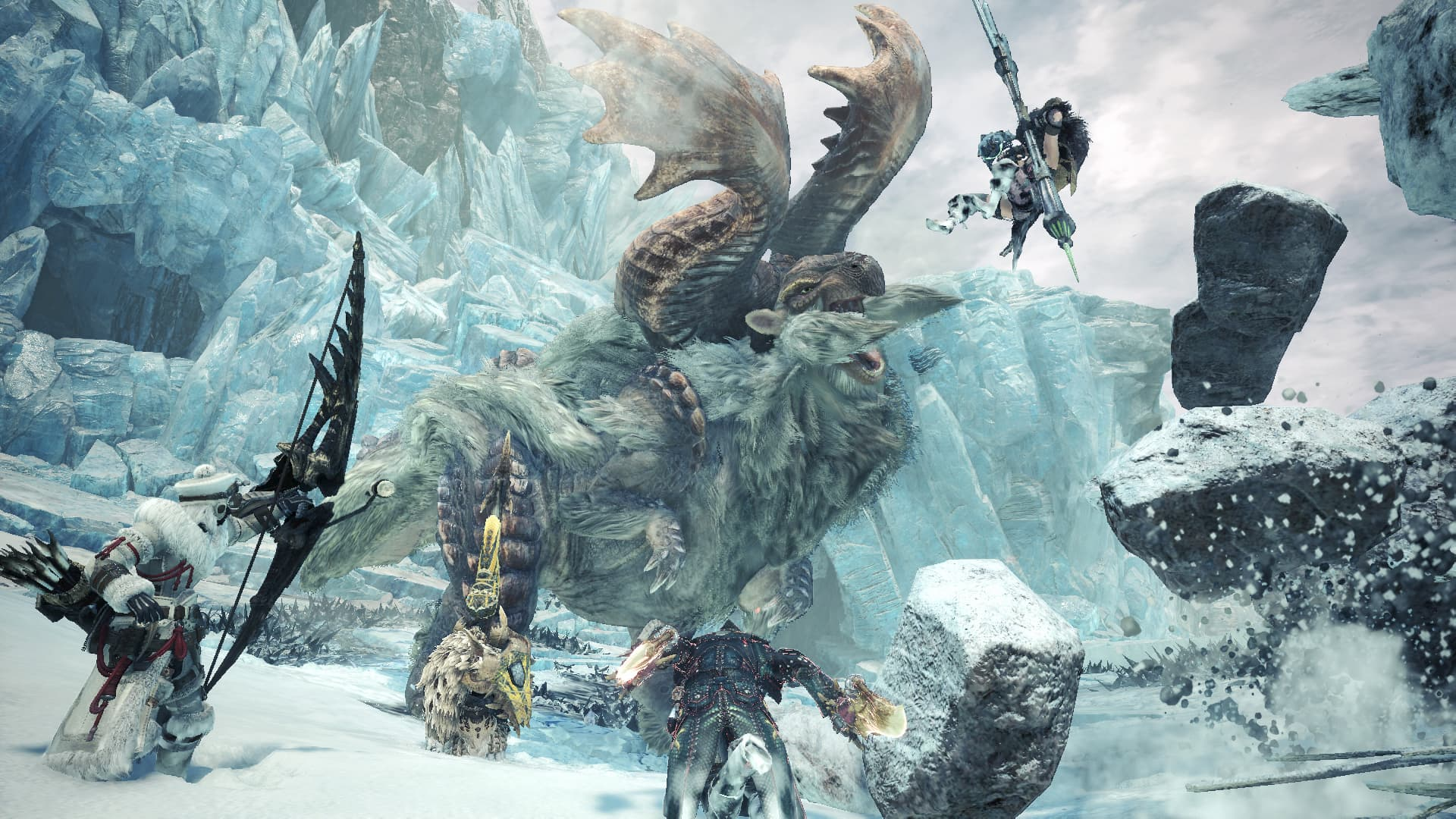 moster hunter world iceborne