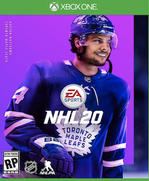 NHL 20 Box Art