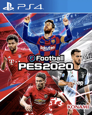 eFootball Pro Evolution Soccer 2020 Box Art