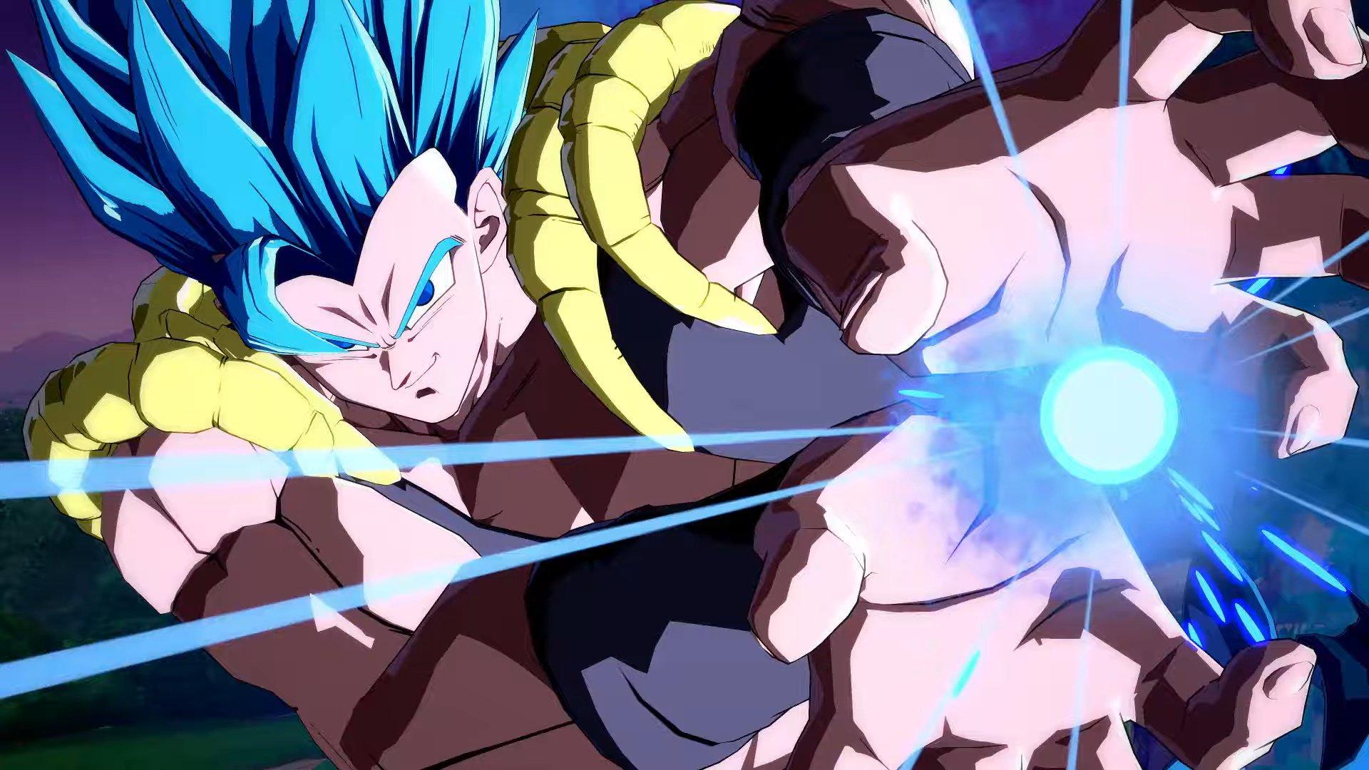 Dragon Ball FighterZ_SSGSS Gogeta