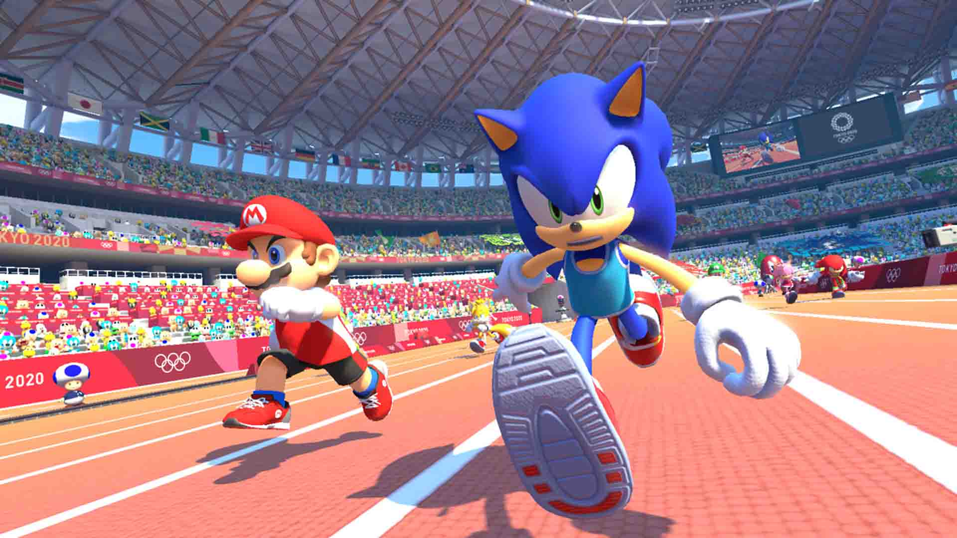 Mario Sonic At The Olympic Games Tokyo 2020 Opening Movie