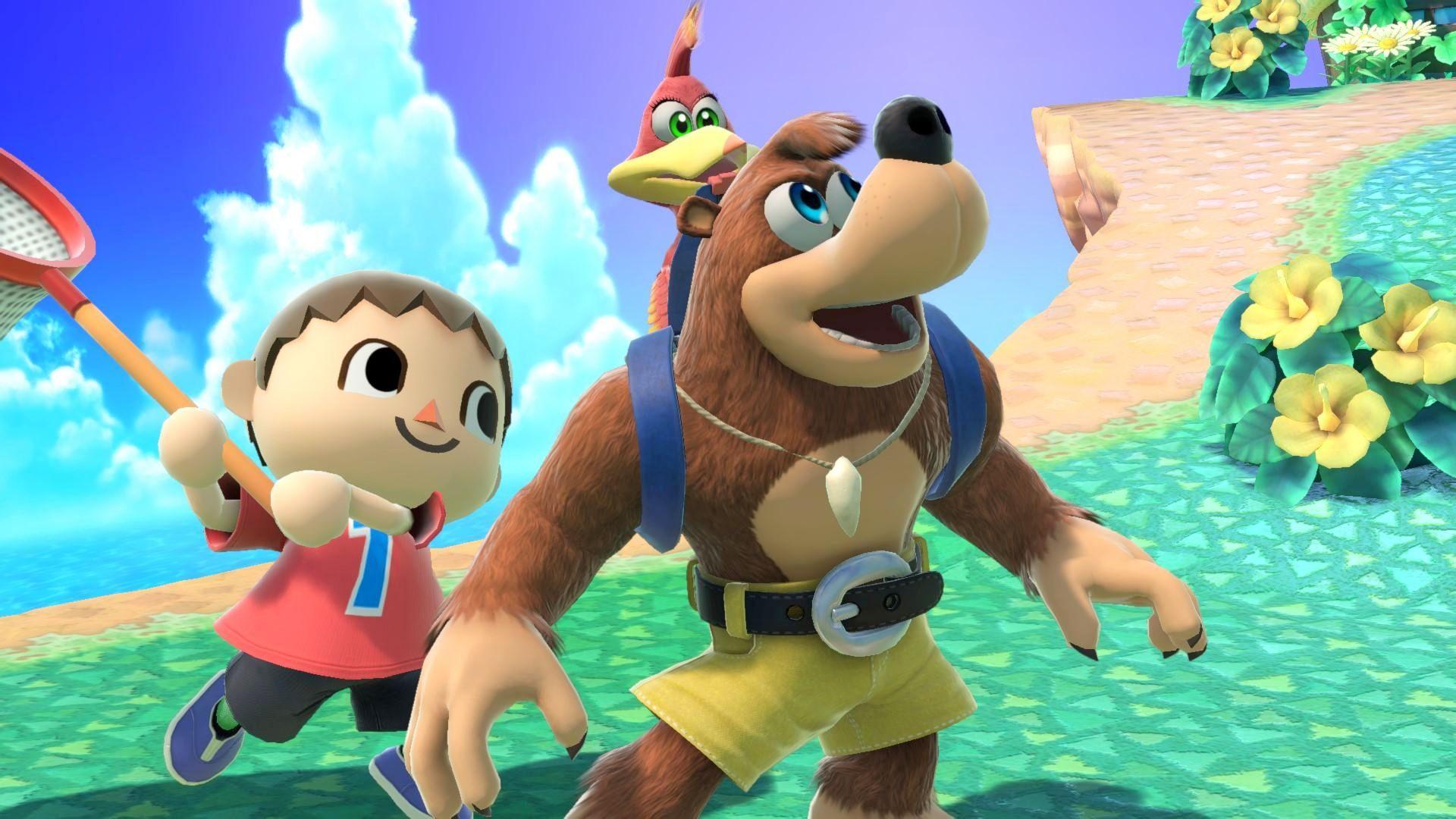 Super Smash Bros Ultimate - Banjo Kazooie