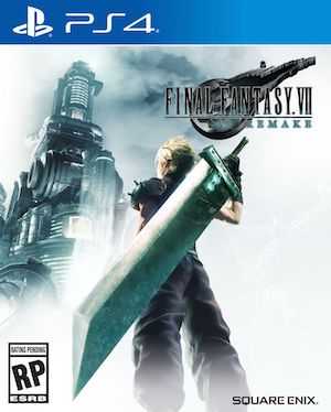 Final Fantasy 7 Remake Box Art