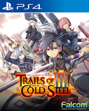 The Legend of Heroes: Trails of Cold Steel 3 Box Art