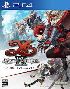 Ys IX: Monstrum Nox Box Art