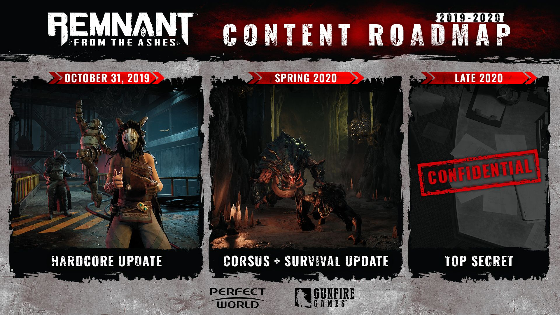 Remnant From the Ashes contnet roadmap
