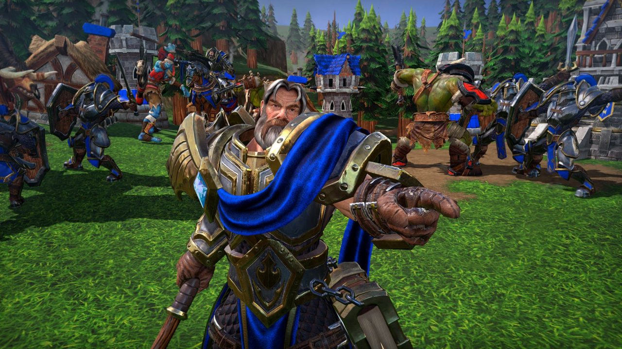 Warcraft 3 Reforged Gameplay Emerges Humans And Orcs Showcased
