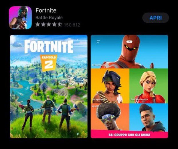fortnite_app_store_leak chapter 2