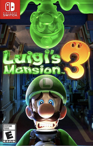 Luigi's Mansion 3 Box Art