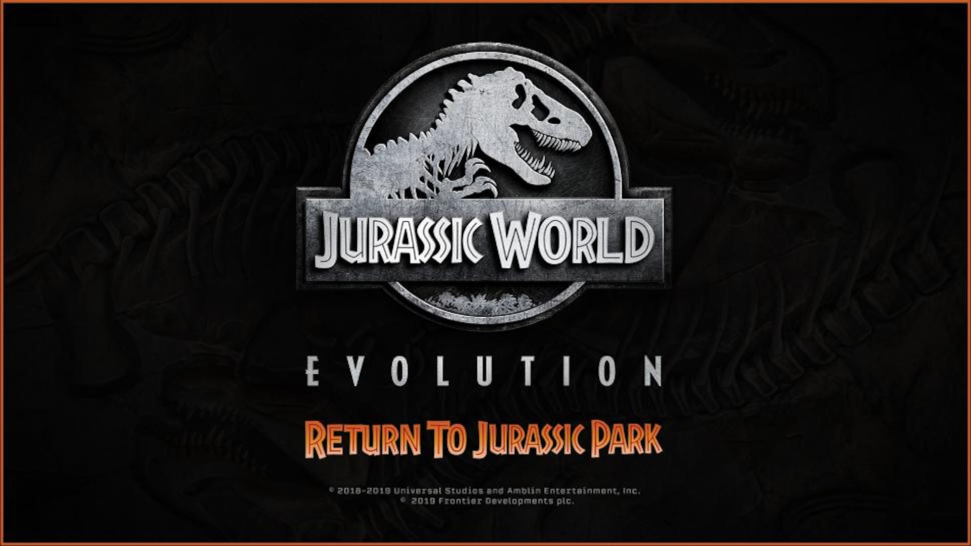 jurassic world evolution return to jurassic park dlc