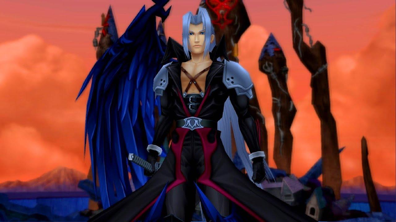 sephiroth kingdom hearts 2
