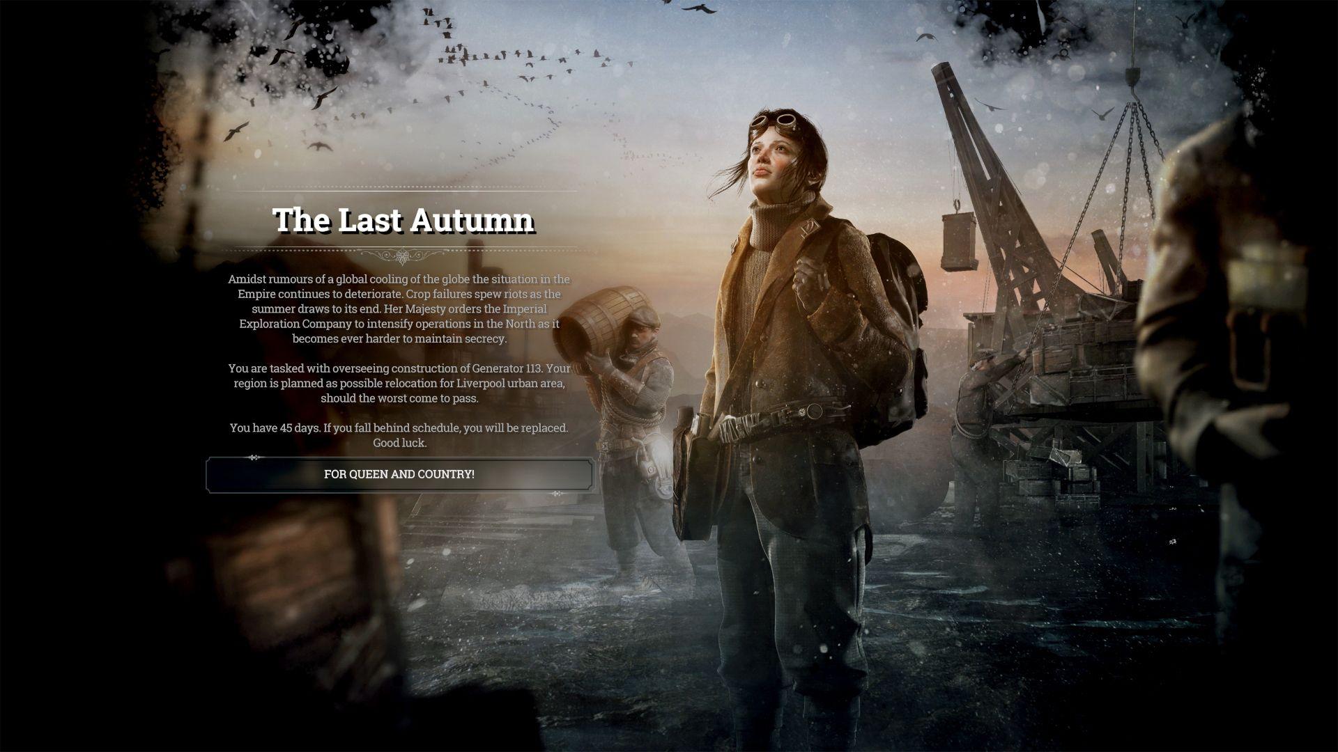Frostpunk - The Last Autumn