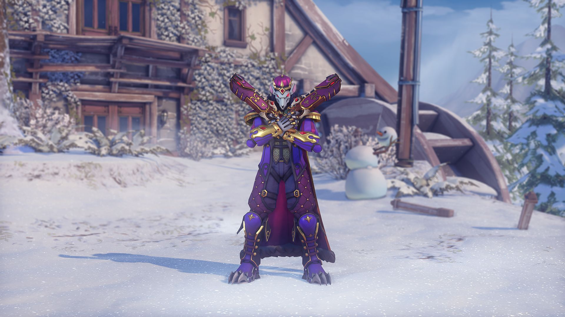 Overwatch Winter Wonderland 2020.Overwatch Winter Wonderland Event Is Now Live New Skins