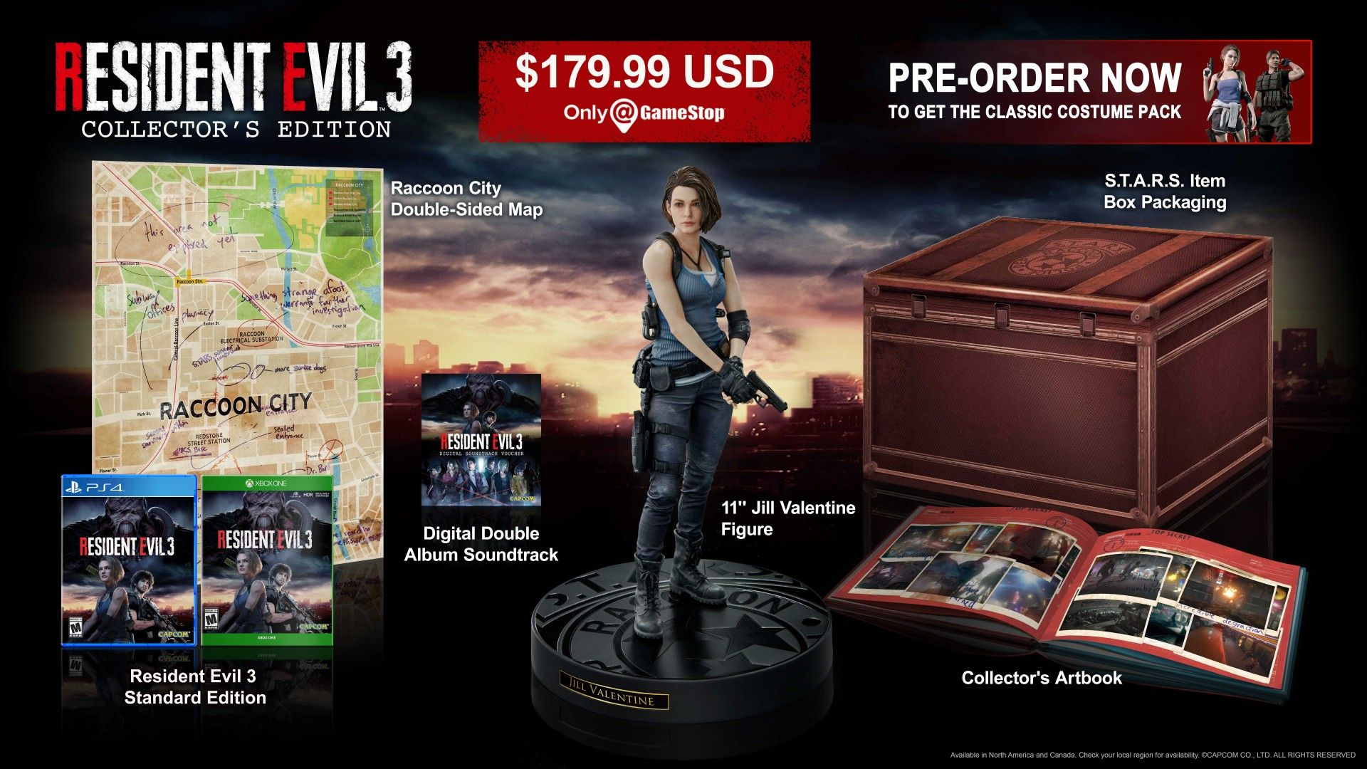 Resident Evil 3 Collector's Edition