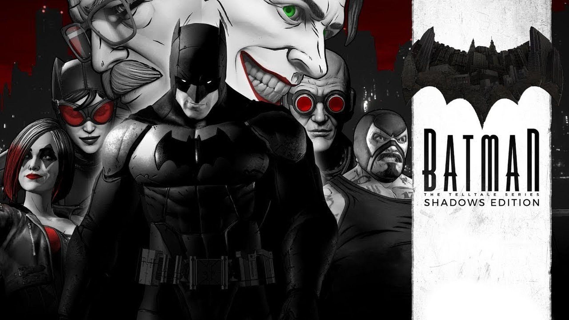 Telltale Batman Shadows Edition