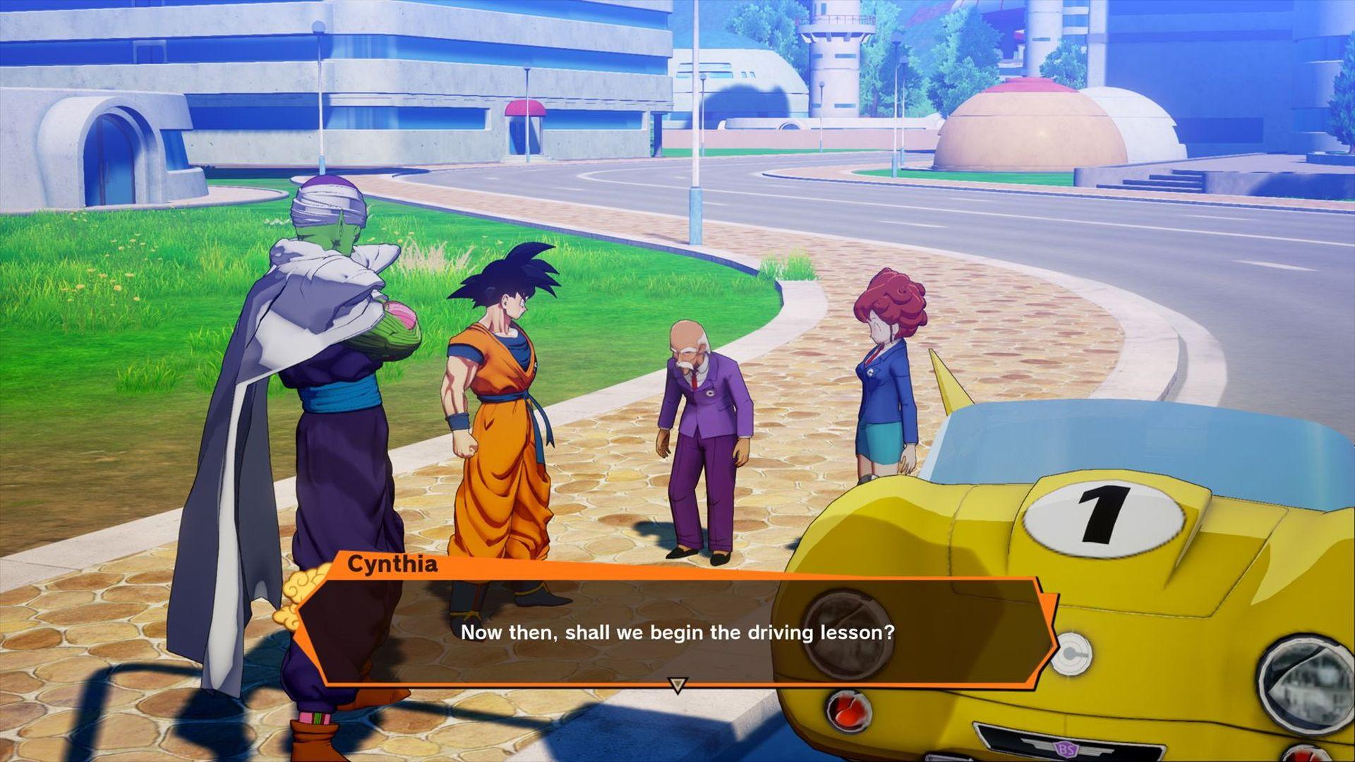 Dragon Ball Z Kakarot_driving