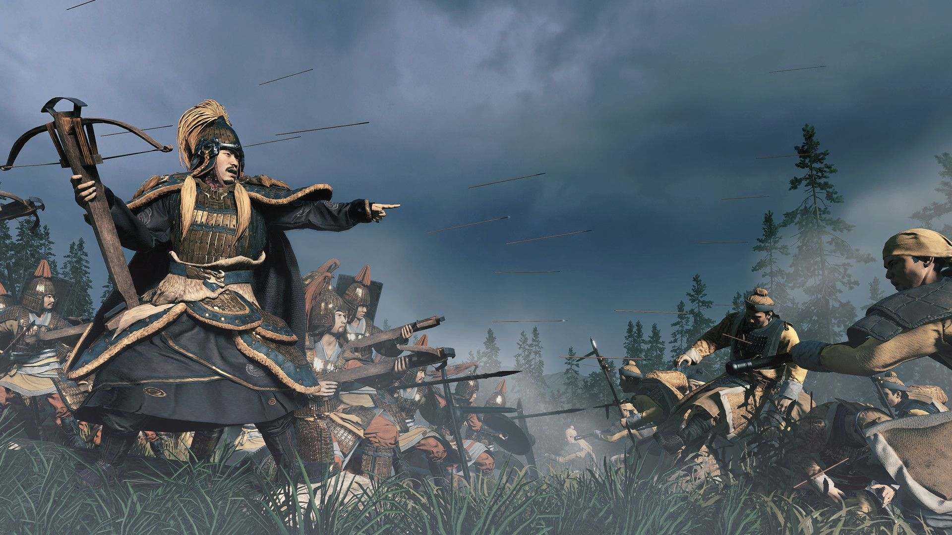 Total War Three Kingdoms Mandate Of Heaven Review The Fires