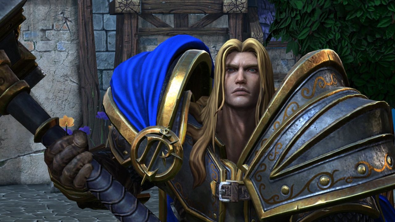warcraft 3 reforged arthas death knight