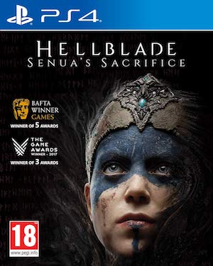 Hellblade: Senua's Sacrifice Box Art