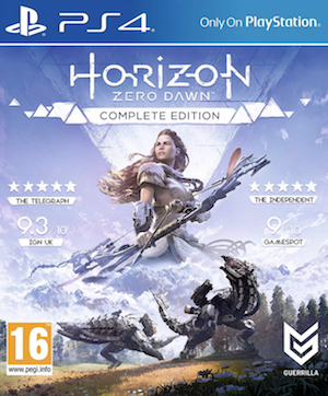 Horizon: Zero Dawn Box Art