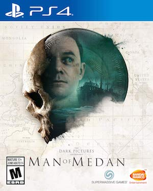 The Dark Pictures: Man of Medan Box Art