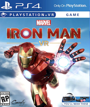 Marvels' Iron Man VR Box Art