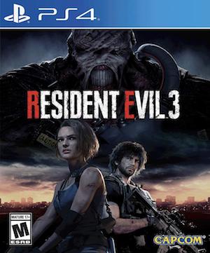 Resident Evil 3 (2020) Box Art