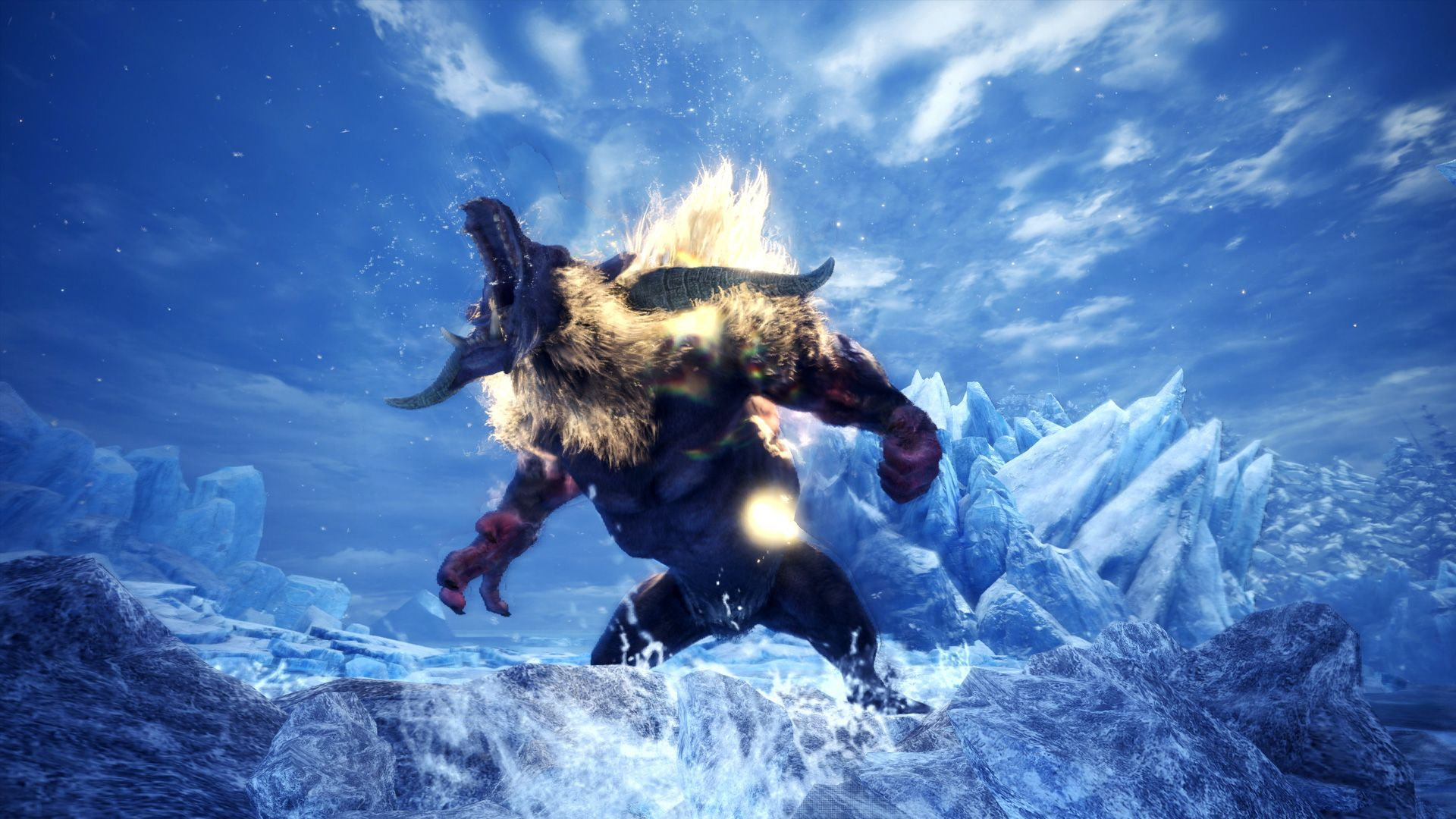 Monster Hunter World Iceborne - Furious Rajang