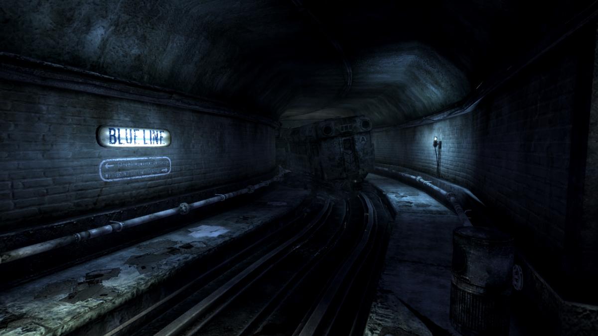 metro tunnels fallout 3