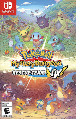 Pokemon Mystery Dungeon: Rescue Team DX Box Art