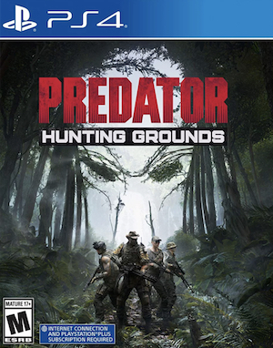 Predator: Hunting Grounds Box Art