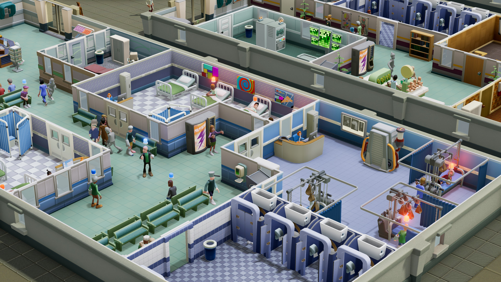 2 Point Hospital Going Free-to-Play For a Week On Nintendo Change, Offer Begins July 28th thumbnail
