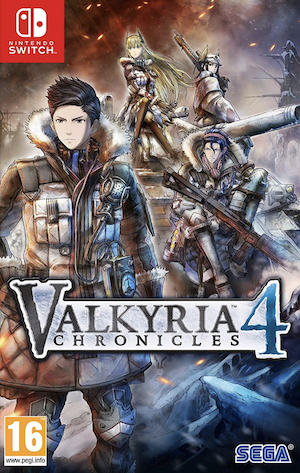 Valkyria Chronicles 4 Box Art