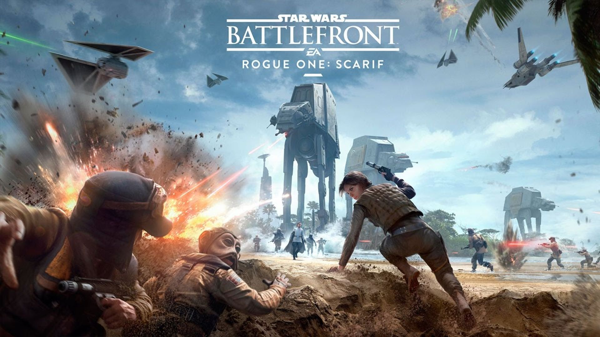 Star Wars Battlefront 2 - The Battle of Scarif