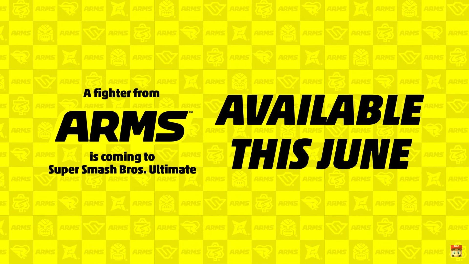 Super Smash Bros Ultimate - ARMS